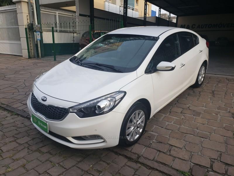 cerato 1.6 ex3 sedan 16v gasolina 4p automatico 2015 caxias do sul