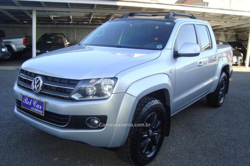 amarok 2.0 highline 4x4 cd 16v turbo intercooler diesel 4p automatico 2012 caxias do sul