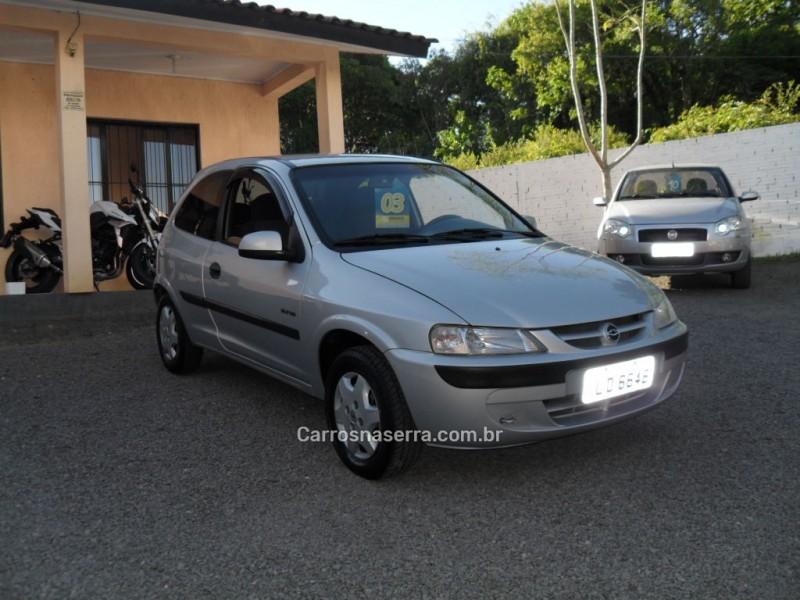 celta 1.0 mpfi vhc super 8v gasolina 2p manual 2003 caxias do sul