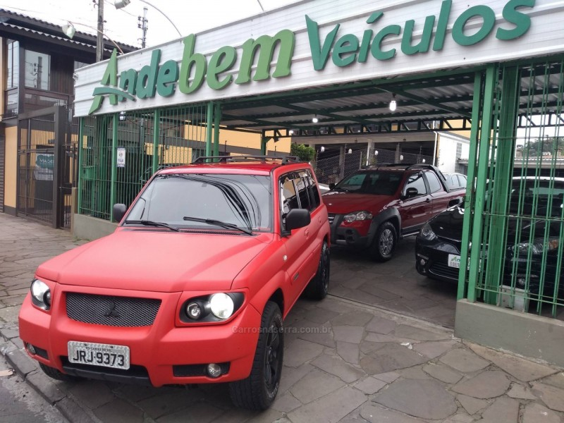 pajero tr4 2.0 4x4 16v 131cv gasolina 4p manual 2008 caxias do sul