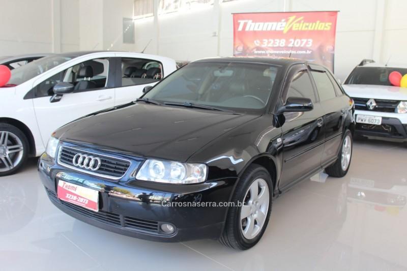 a3 1.8 20v 180cv turbo gasolina 4p manual 2002 caxias do sul