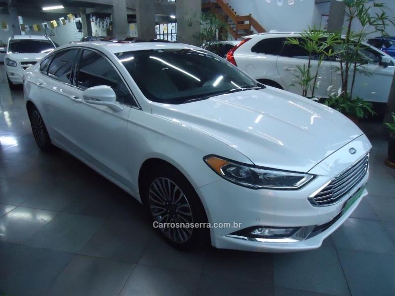 fusion 2.0 titanium awd 16v gasolina 4p automatico 2017 caxias do sul