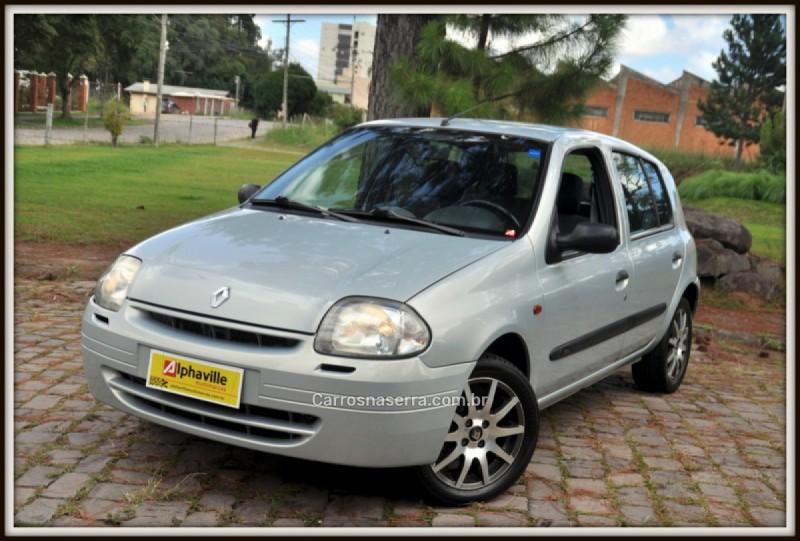 clio 1.0 rn 16v gasolina 4p manual 2002 caxias do sul