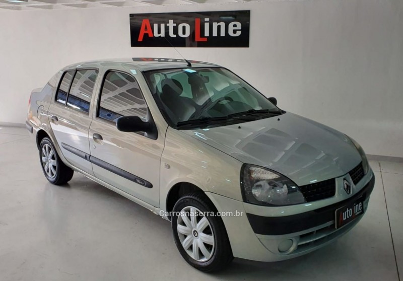 clio 1.6 privilege sedan 16v gasolina 4p manual 2005 bento goncalves