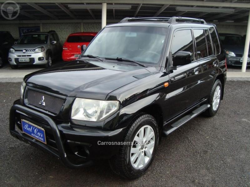 pajero tr4 2.0 4x4 16v 131cv gasolina 4p automatico 2004 caxias do sul
