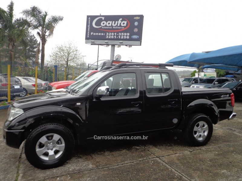 frontier 2.5 le 4x4 cd turbo eletronic diesel 4p manual 2013 farroupilha