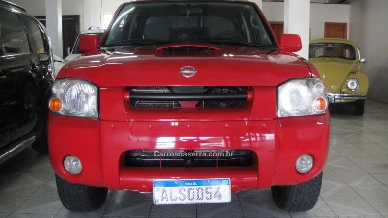 frontier 2.8 se 4x4 cd turbo diesel 4p manual 2004 farroupilha