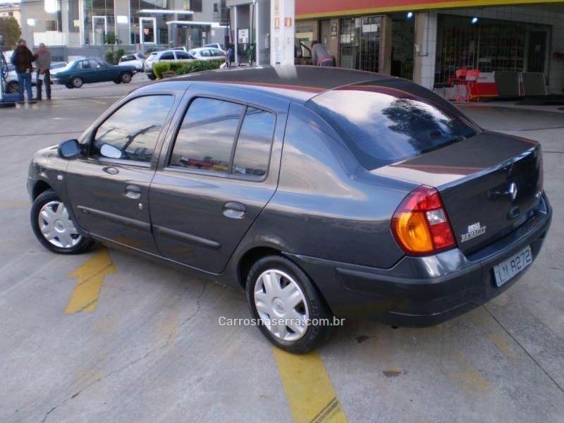 clio 1.6 expression sedan 16v gasolina 4p manual 2004 caxias do sul