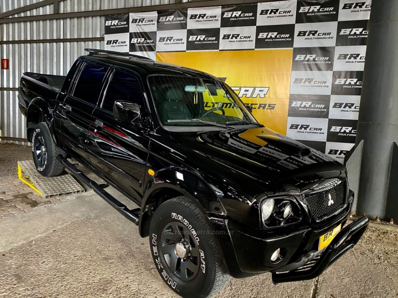 l200 2.5 sport hpe 4x4 cd 8v turbo intercooler diesel 4p automatico 2005 caxias do sul