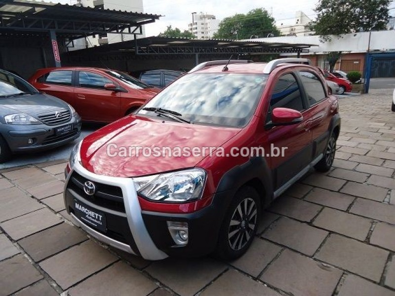 etios cross 1.5 16v flex 4p automatico 2017 caxias do sul