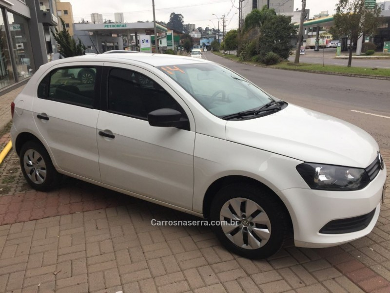 gol 1.6 mi city 8v flex 4p manual 2014 caxias do sul
