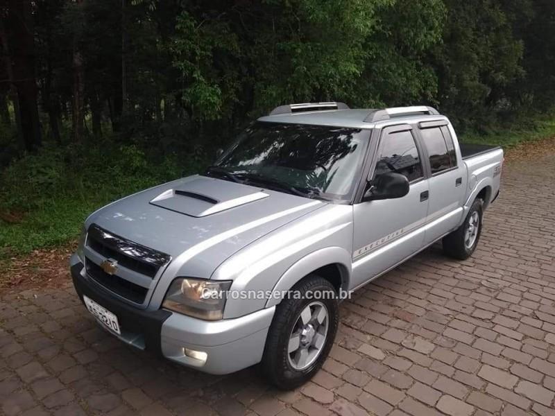 s10 2.8 executive 4x4 cd 12v turbo electronic intercooler diesel 4p manual 2011 nova prata