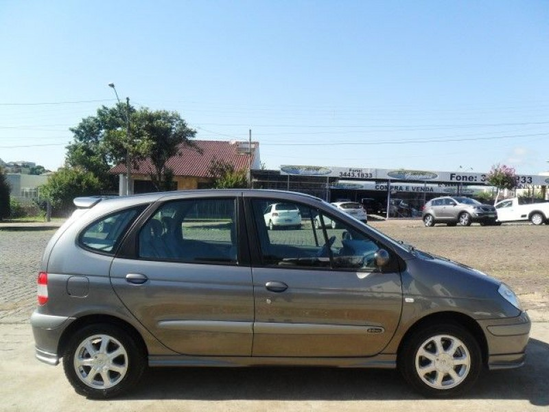 scenic 2.0 privilege 16v gasolina 4p manual 2005 guapore