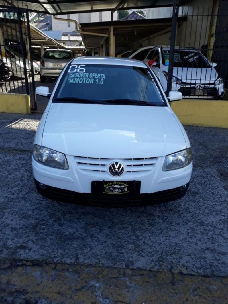 gol 1.0 i plus 8v gasolina 2p manual 2006 caxias do sul