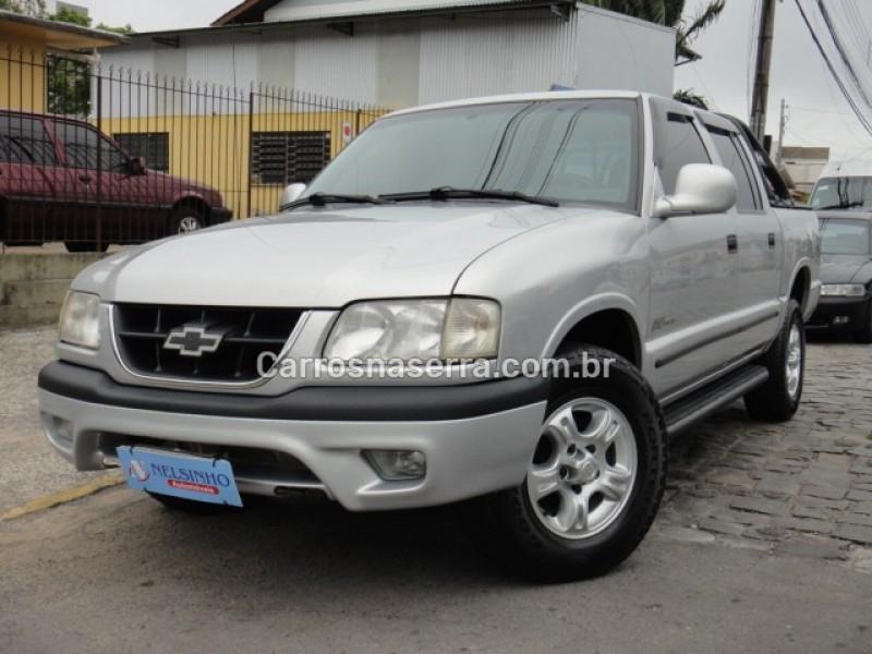 s10 2.8 dlx 4x2 cd 12v turbo intercooler diesel 4p manual 2000 caxias do sul