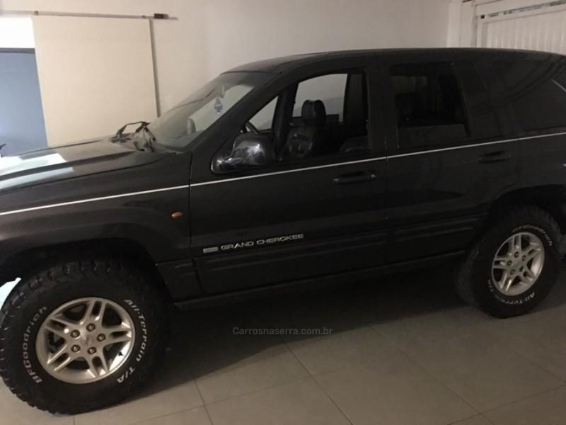 grand cherokee 4.7 limited quadra drive 4x4 v8 16v gasolina 4p automatico 1999 bento goncalves