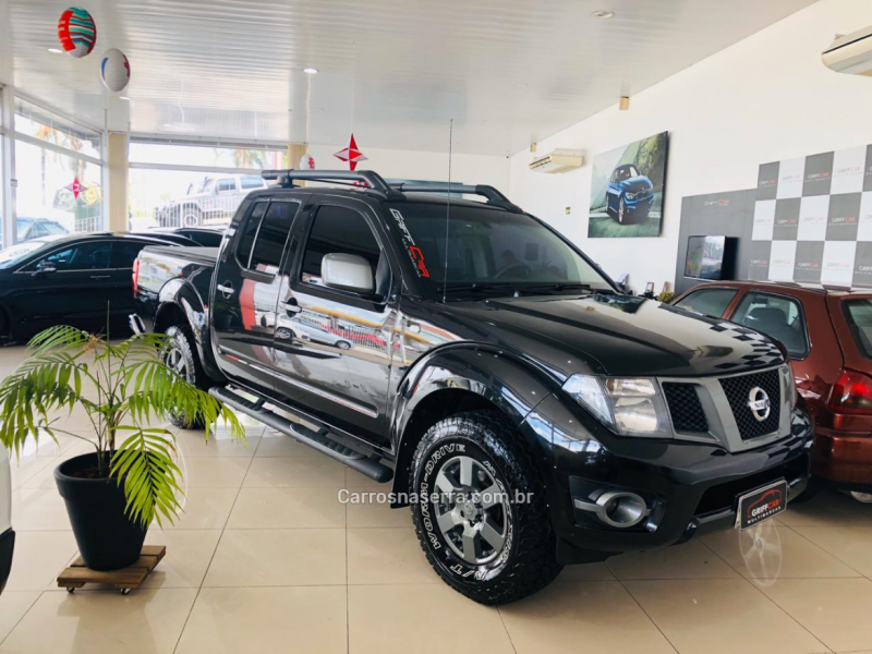 frontier 2.5 se attack 4x4 cd turbo eletronic diesel 4p manual 2014 dois irmaos