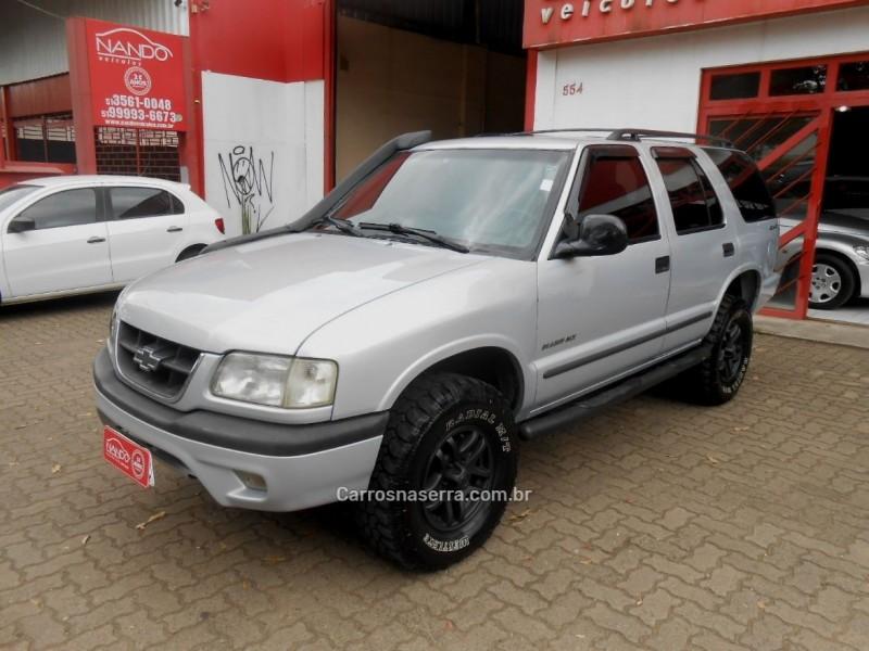 blazer 2.8 4x4 8v turbo intercooler diesel 4p manual 2000 estancia velha
