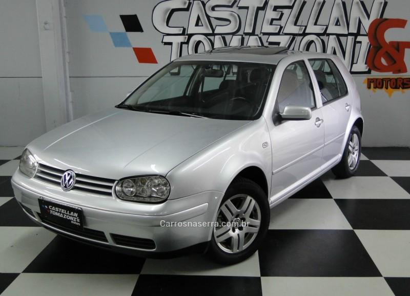 golf 1.8 mi gti 20v 150cv turbo gasolina 4p automatico 2001 caxias do sul