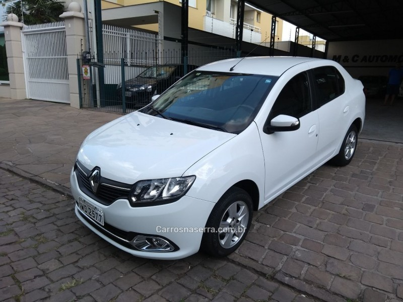 logan 1.6 dynamique 8v flex 4p manual 2015 caxias do sul