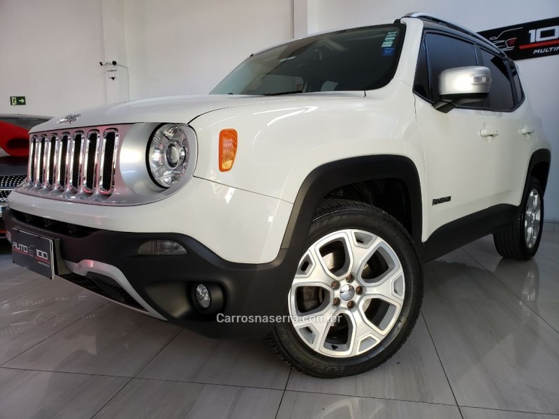 renegade 2.0 16v turbo diesel limited 4p 4x4 automatico 2018 caxias do sul