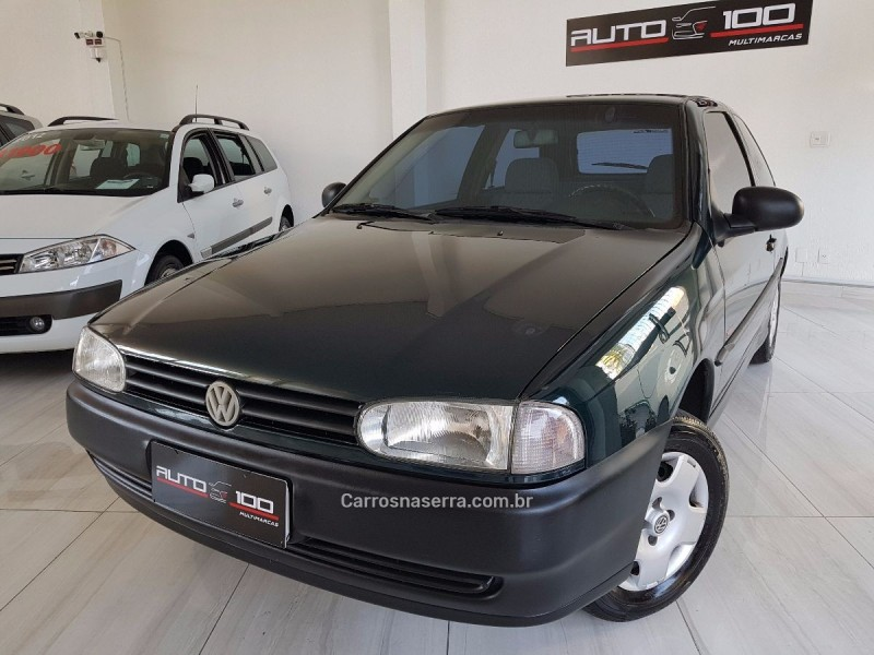 gol 1.0 i plus 8v gasolina 2p manual 1997 caxias do sul