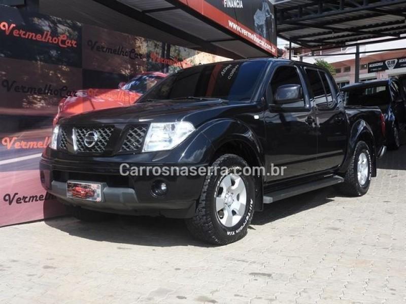 frontier 2.5 xe 4x2 cd turbo eletronic diesel 4p manual 2009 caxias do sul