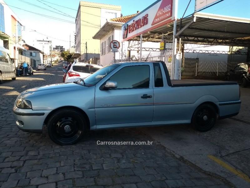 saveiro 1.8 mi summer cs 8v gasolina 2p manual g.iii 2002 caxias do sul