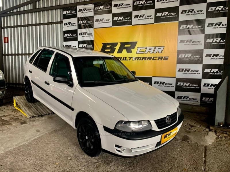 gol 1.6 mi power 8v flex 4p manual g.iii 2004 caxias do sul