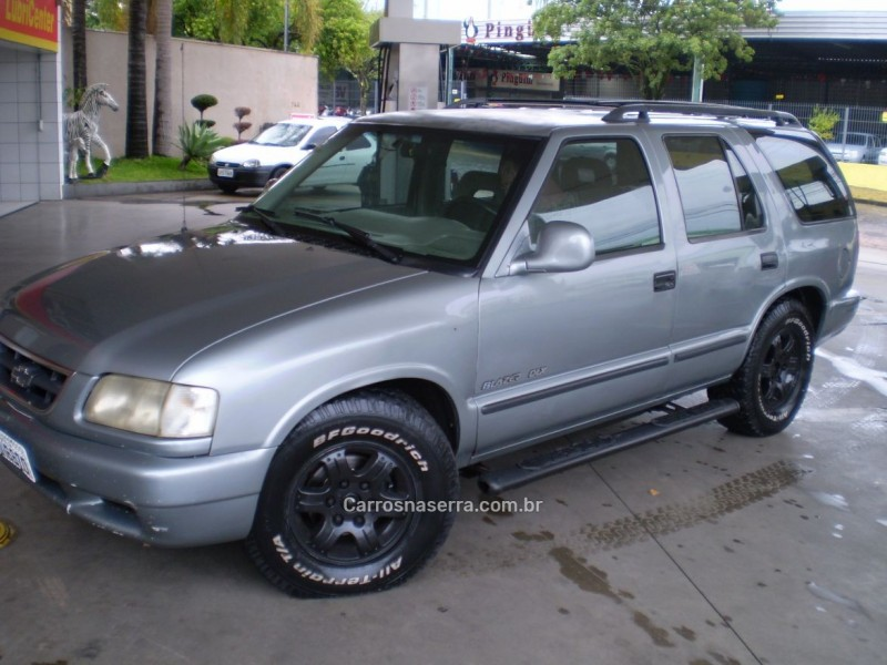 blazer 2.5 dlx 4x2 8v turbo diesel 4p manual 1997 caxias do sul
