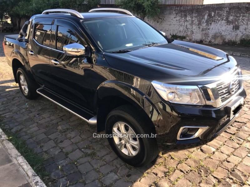 frontier 2.5 le 4x4 cd turbo eletronic diesel 4p automatico 2017 carlos barbosa