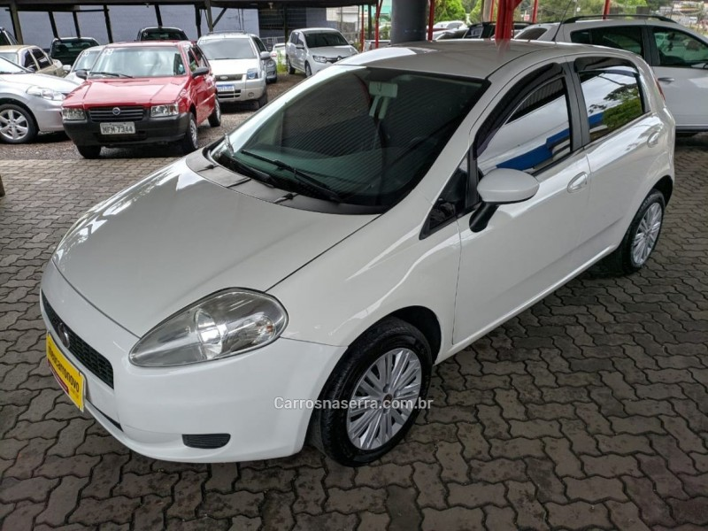 punto 1.4 attractive 8v flex 4p manual 2009 caxias do sul