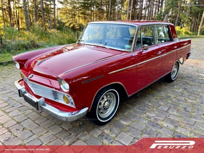 aero willys 2.6 6 cilindros 12v gasolina 4p manual 1966 nova prata