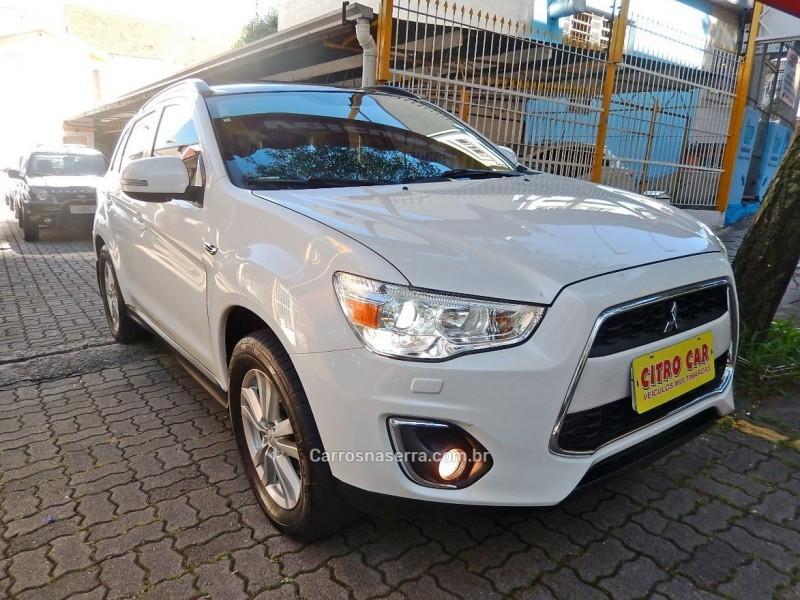 asx 2.0 4x4 top 16v gasolina 4p automatico 2013 caxias do sul