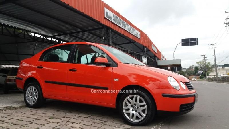 polo 1.6 mi 8v gasolina 4p manual 2005 caxias do sul