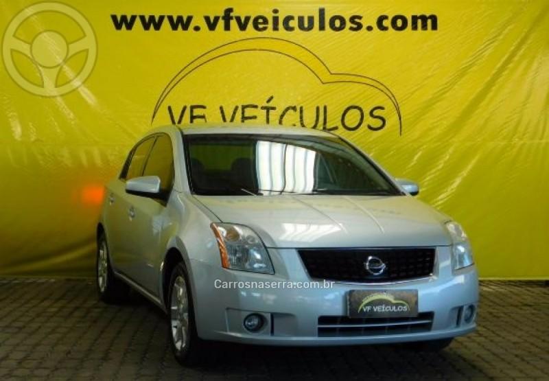 sentra 2.0 s 16v gasolina 4p automatico 2008 caxias do sul
