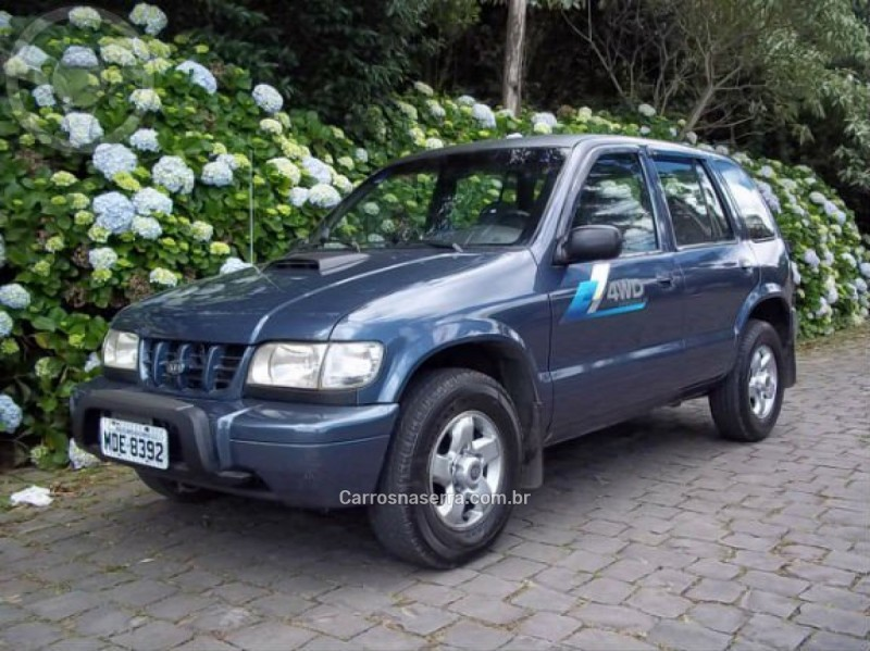 sportage 2.0 d 4x4 turbo intercooler diesel 4p manual 2003 caxias do sul