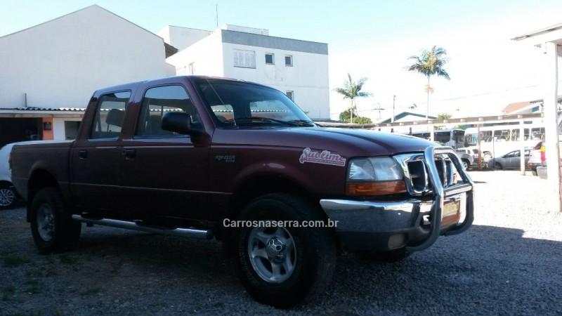 ranger 2.5 xlt 4x4 cd 8v turbo intercooler diesel 4p manual 2000 caxias do sul