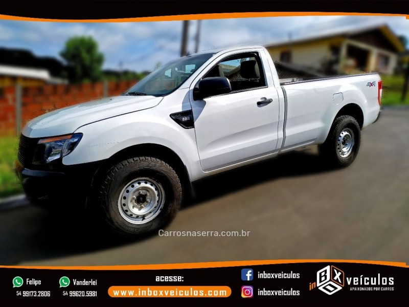 ranger 2.2 xl 4x4 cs 16v diesel 2p manual 2014 gramado