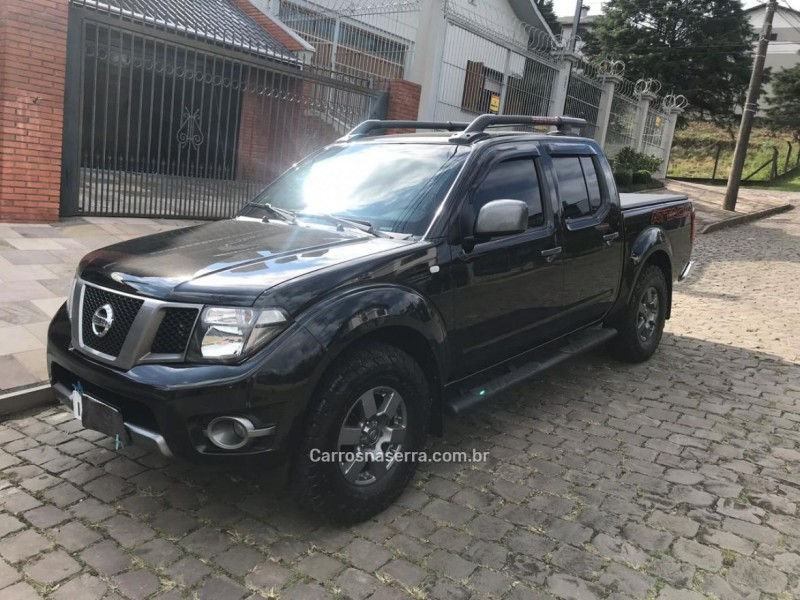 frontier 2.5 se attack 4x4 cd turbo eletronic diesel 4p manual 2016 flores da cunha