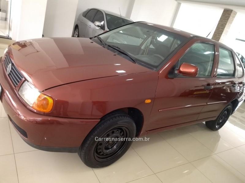 polo 1.8 mi classic sedan 8v gasolina 4p manual 1999 nova bassano
