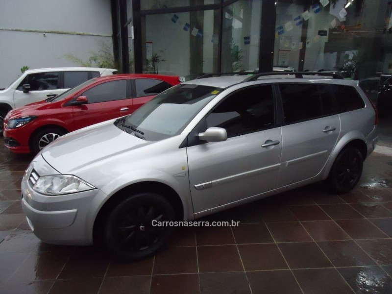 megane 1.6 dynamique grand tour 16v flex 4p manual 2011 caxias do sul