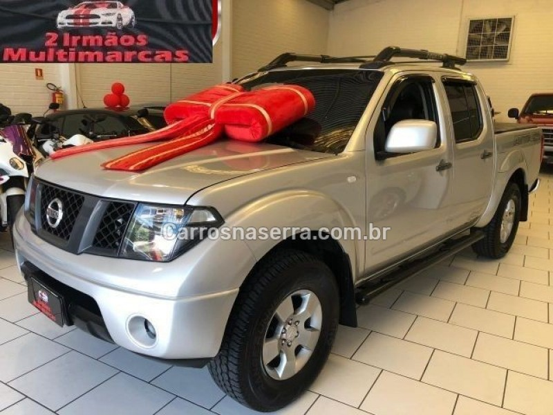 frontier 2.5 le 4x4 cd turbo eletronic diesel 4p automatico 2012 dois irmaos