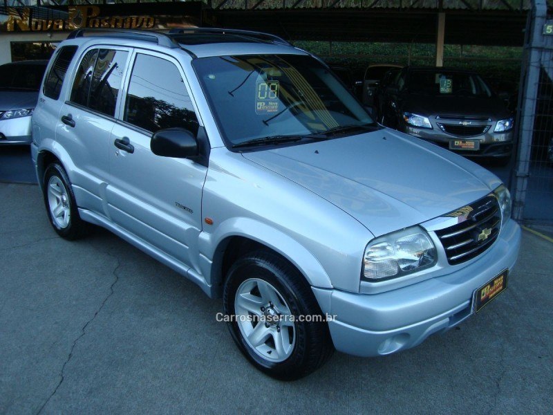 tracker 2.0 4x4 8v gasolina 4p manual 2008 caxias do sul
