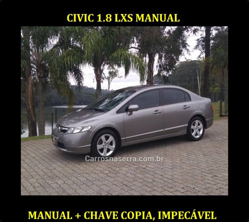 civic 1.8 lxs 16v gasolina 4p manual 2008 caxias do sul