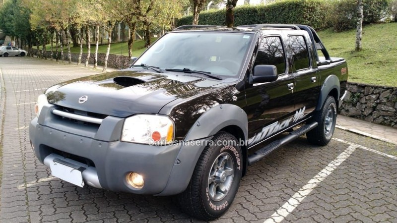 frontier 2.8 xe attack 4x4 cd turbo eletronic diesel 4p manual 2007 caxias do sul