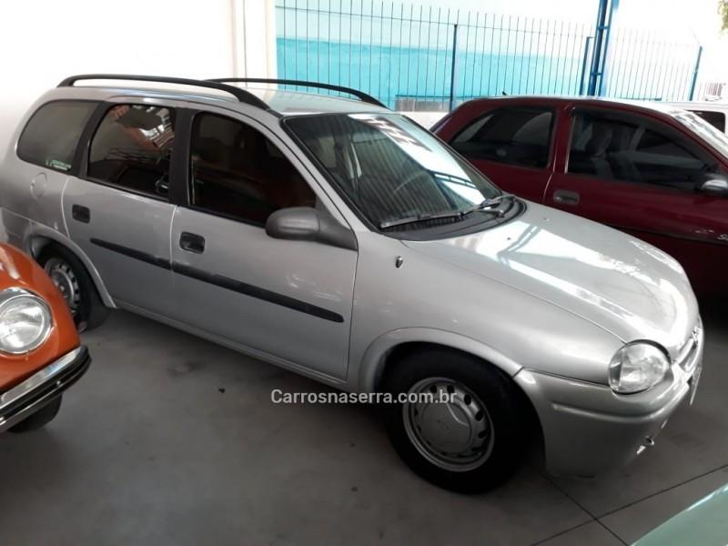 corsa 1.0 mpfi super wagon 16v gasolina 4p manual 1999 caxias do sul