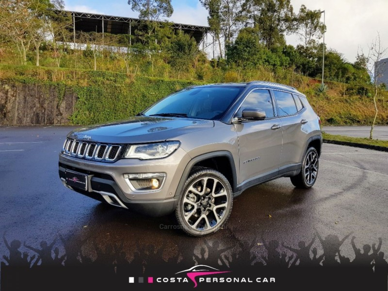 compass 2.0 16v diesel limited 4x4 automatico 2020 bento goncalves