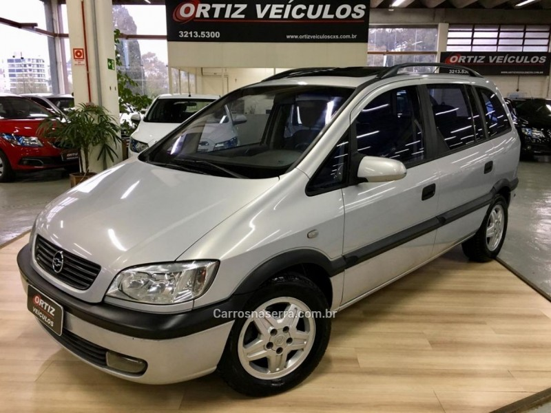 zafira 2.0 mpfi 8v gasolina 4p manual 2001 caxias do sul