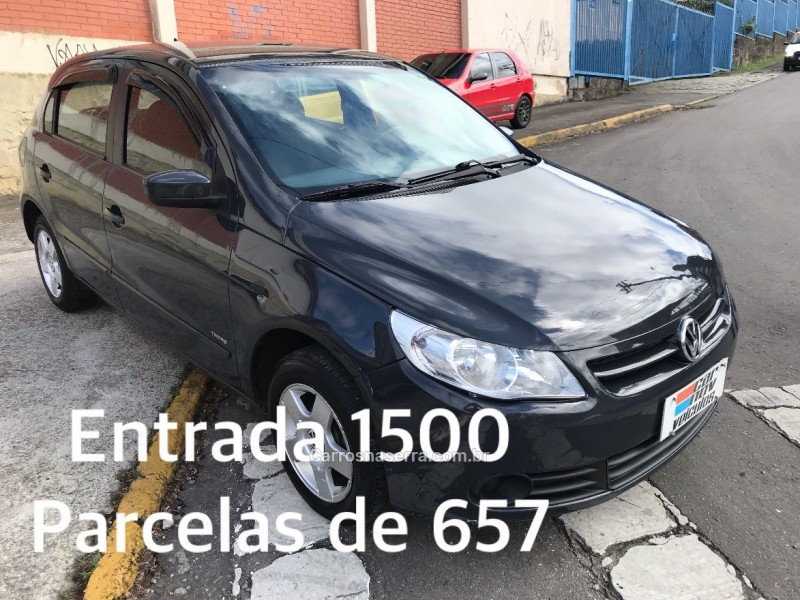 gol 1.0 mi 8v flex 4p manual g.v 2012 caxias do sul